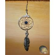 Boucle d'oreille Dreamcatcher Igle Lapis lazuli