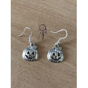 Boucles d'oreille Citrouille