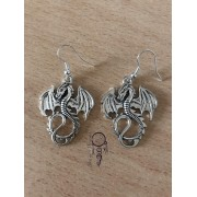 Boucles d'oreille Dragon