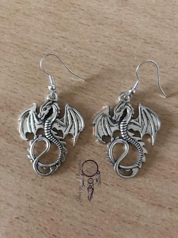 Boucles d'oreille Dragon